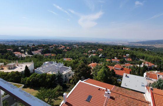 Διαμέρισμα, πώληση, 1ου ορόφου, πανοραμική θέα στο κόλπο, αέριο, πυλωτή , Πανόραμα