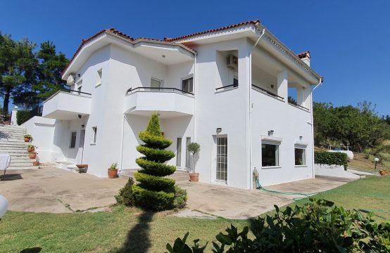 Μονοκατοικία, 2 επιπέδων , οικόπεδο 3.400μ., σε επαφή με το πράσινο, Πανόραμα