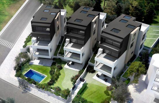 Διαμέρισμα, ισογείου, νεόδμητο, πολυτελούς κατασκευής, γεωμετρική αισθητική , Πανόραμα