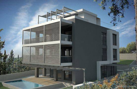 Διαμέρισμα, νεόδμιτο, γεωμετρική αισθητική, υψηλών προδιαγραφών, Πανόραμα